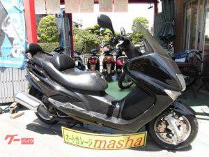ヤマハ マジェスティ125 黒塗外装新品 前タイヤ新品交換済み